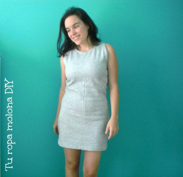 Recicla un chándal en un vestido