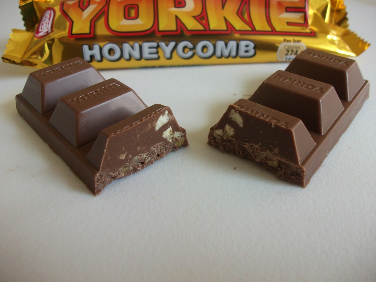 ... Snack Reviews: Nestlé Yorkie Honeycomb Bar (Limited Edition) Review