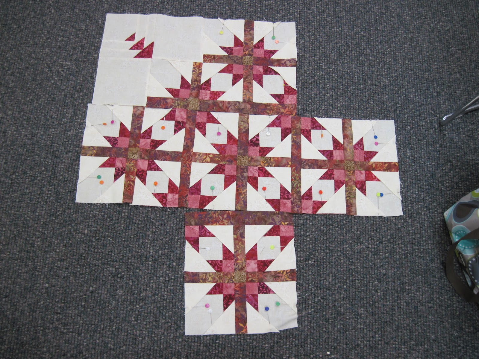 Jean's Quilting Page: Mexican Star quilt class : mexican quilt - Adamdwight.com