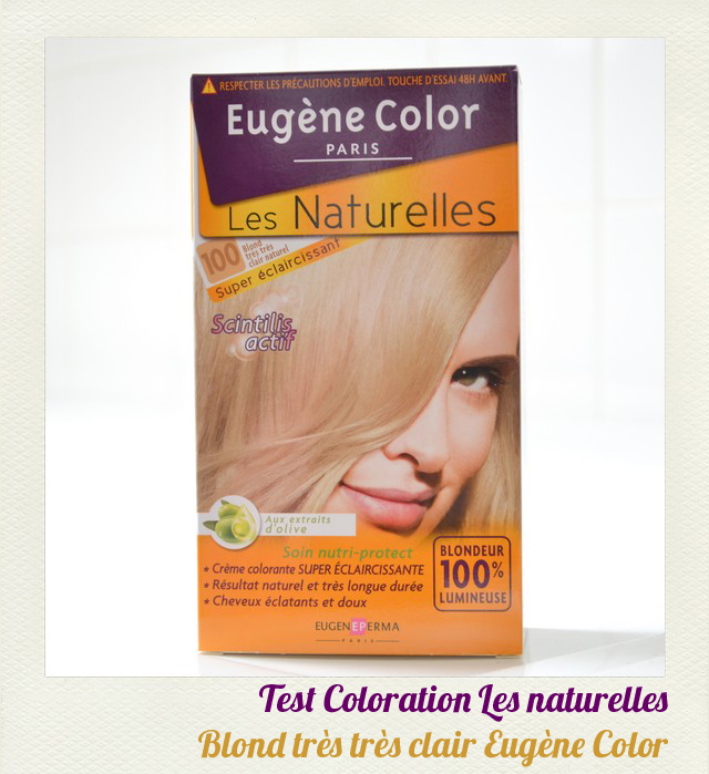 jai ft mes 1an de coloration avant javais de long cheveux blond fonc et naturels et maintenant je suis trs blonde jai commenc me colorer les - Coloration Eugene Color