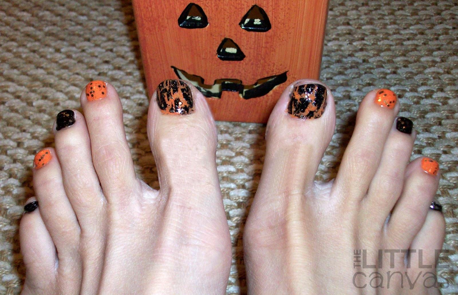 Nice Halloween Toe Nail Art Designs Gallery Gift - Nail Art Ideas ...