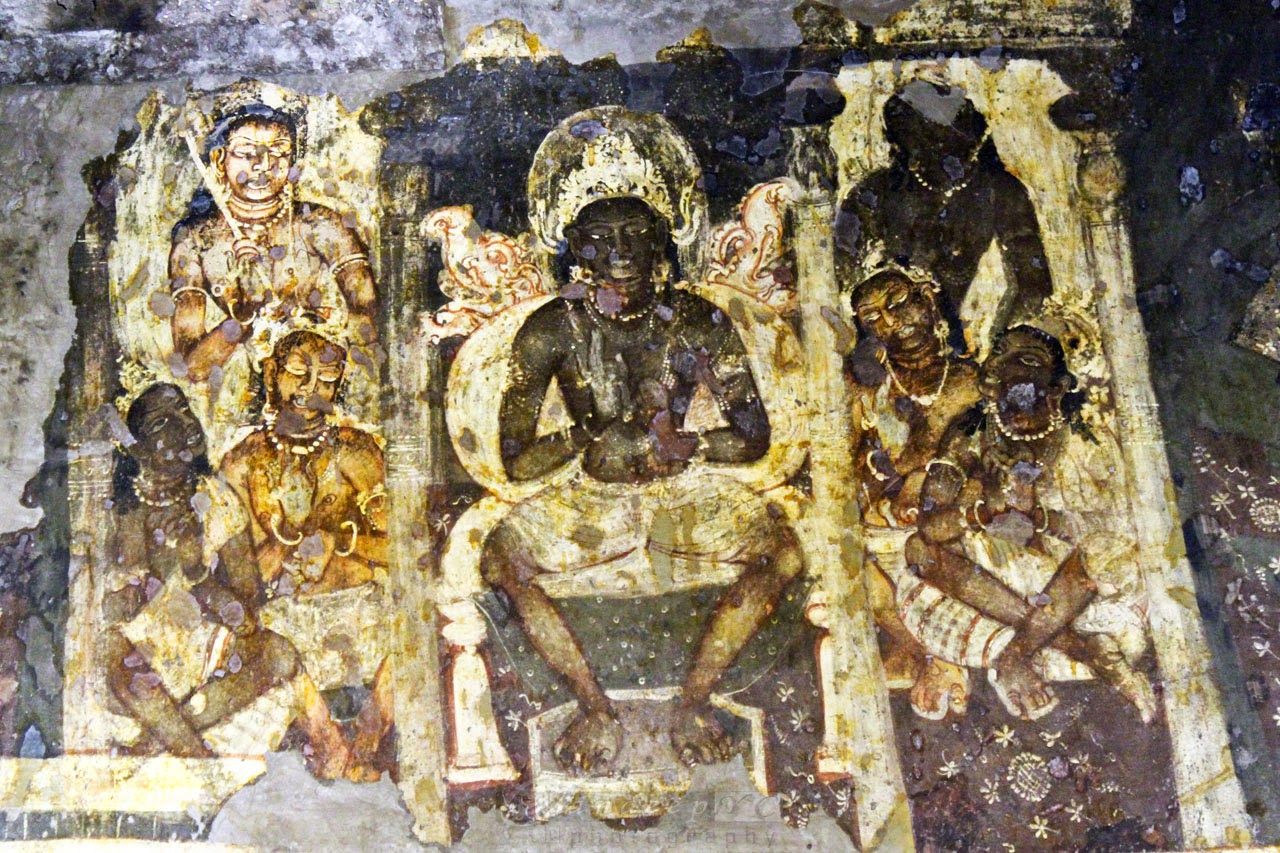 Bodhisattva of Tushita Heaven before his descent to earth