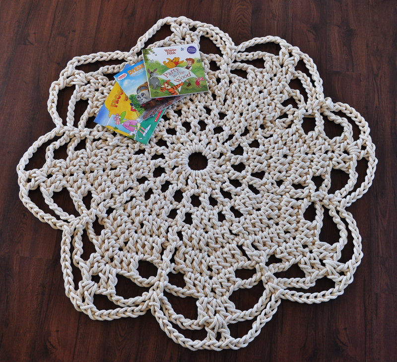 My Twisted Thread And Hook: Crochet Rope Rug - My ToDo list #2