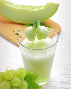 Maanfaat jus melon,khasiat jus melon,fungsi jus melon