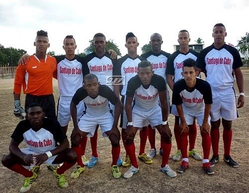 Equipo fútbol Santiago de Cuba Torneo Ascenso 2015