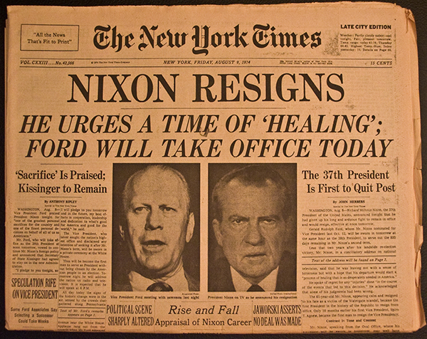 the events following the exposure of the watergate scandal Watergate scandal reassessed: mass media's watchdog role and its impact on american political system.