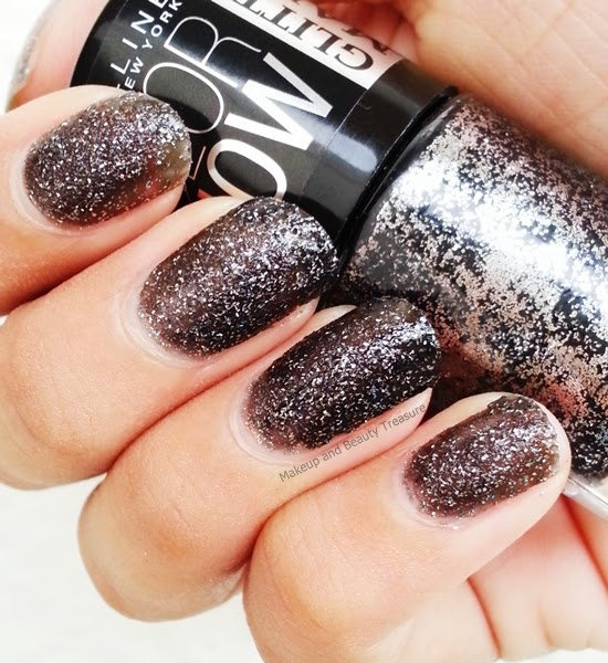 Maybelline Glitter Mania Nail Polish Online - To Bend Light