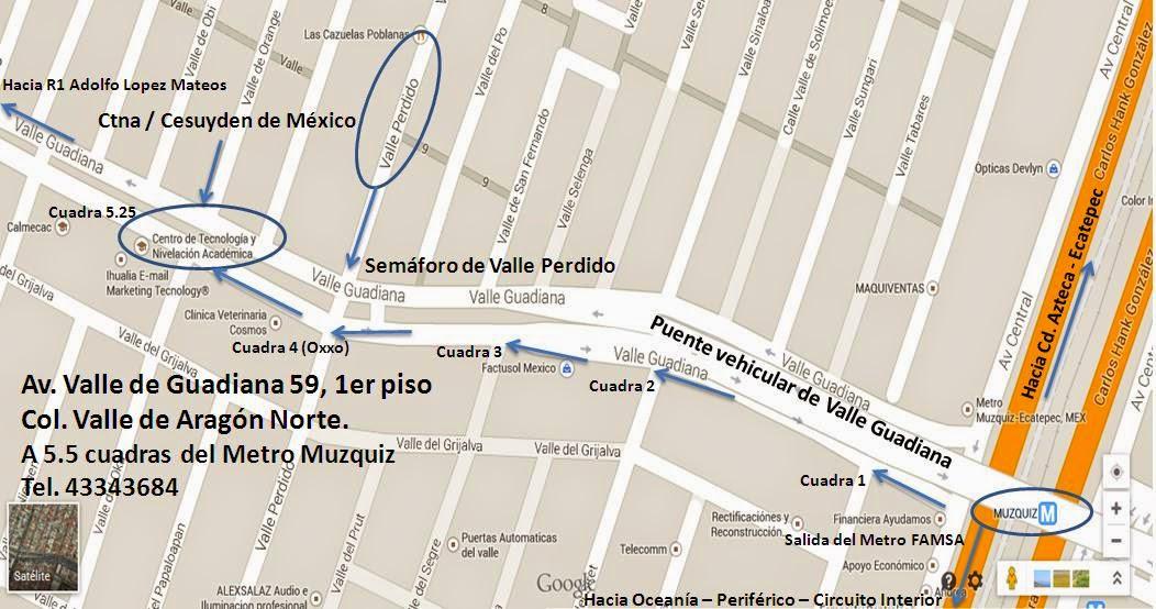 Curso para examen de Admisión Unam en Ctna Áragon - Gustavo A Madero - Nezahualcoyolth - Ecatepec