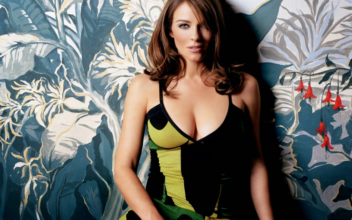 ELIZABETH HURLEY_WALLSTOWN_IN_HOLLYWOOD ACTRESS_HOLLYWOOD CELEBRITIES