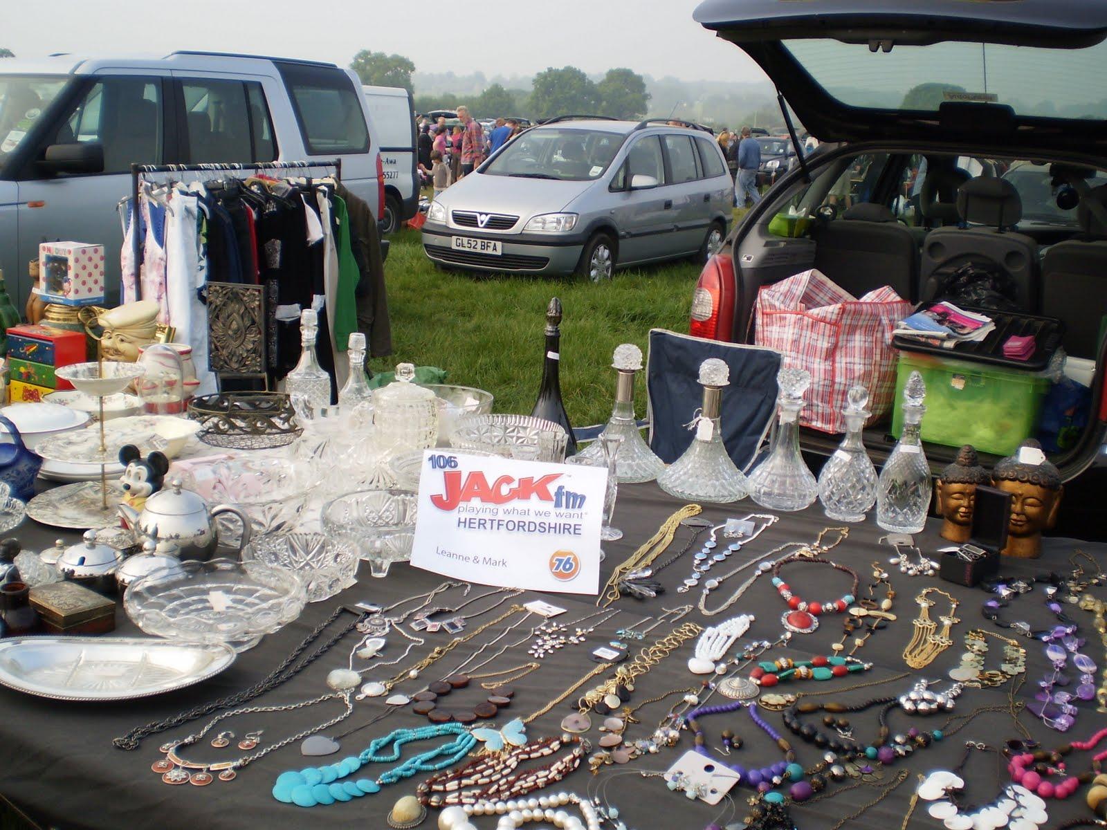 Letchworth Car Boot Sale