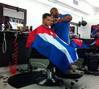 Barber Shop In Spanish : Breiner on the road: Back in the USA: Flamingos, Spanish, drugstores