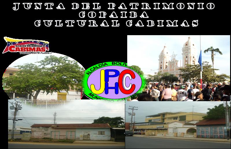 JUNTA DE PATRIMONIO COPAIBA CULTURAL CABIMAS