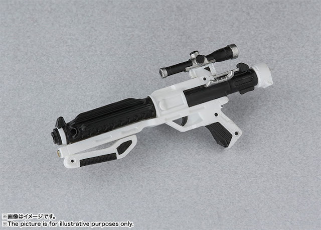S.H.Figuarts First Order Stormtrooper powerful weapon