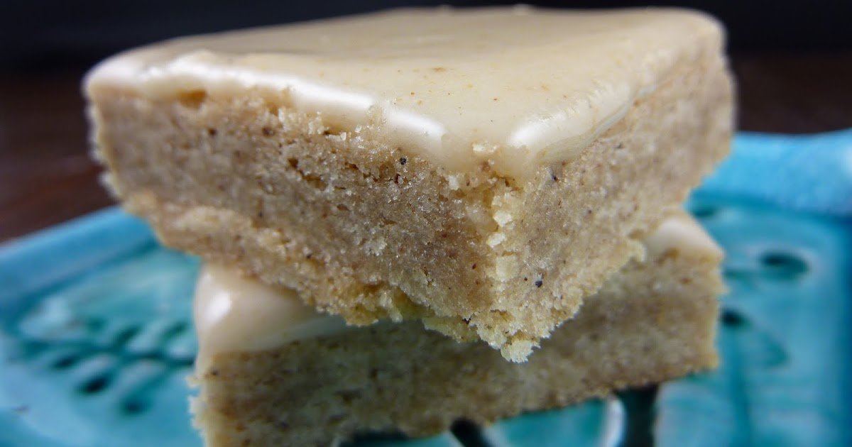 Cookies on Friday: Chai Bars with Honey Ginger Icing