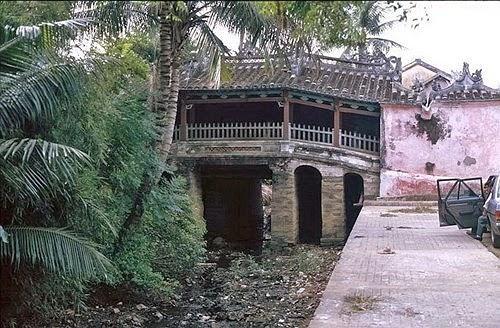 Chùa Cầu Hội An. Hình ảnh đẹp Phố cổ Hội An những năm 1990 - nét xưa