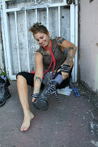 Beautiful Girls Going Barefoot