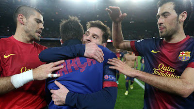 Messi líder del Barcelona