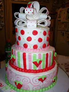 Fondant Birthday Cakes on Special Day Cakes  The Best Design Of Fondant Birthday Cakes For Girls