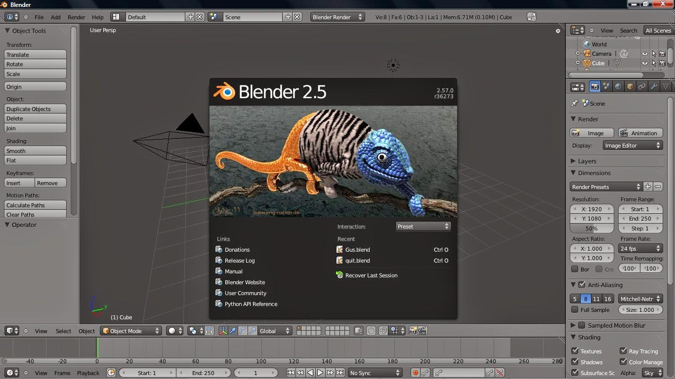Blender Game Engine скачать