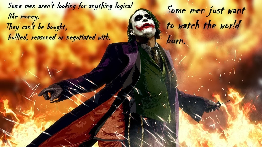 laugh here heath ledger scary clown joker s 3 quotes