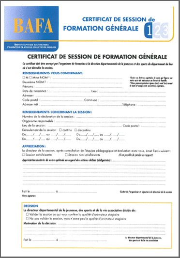 t u00e9l u00e9charger certificat de stage pratique bafa pdf