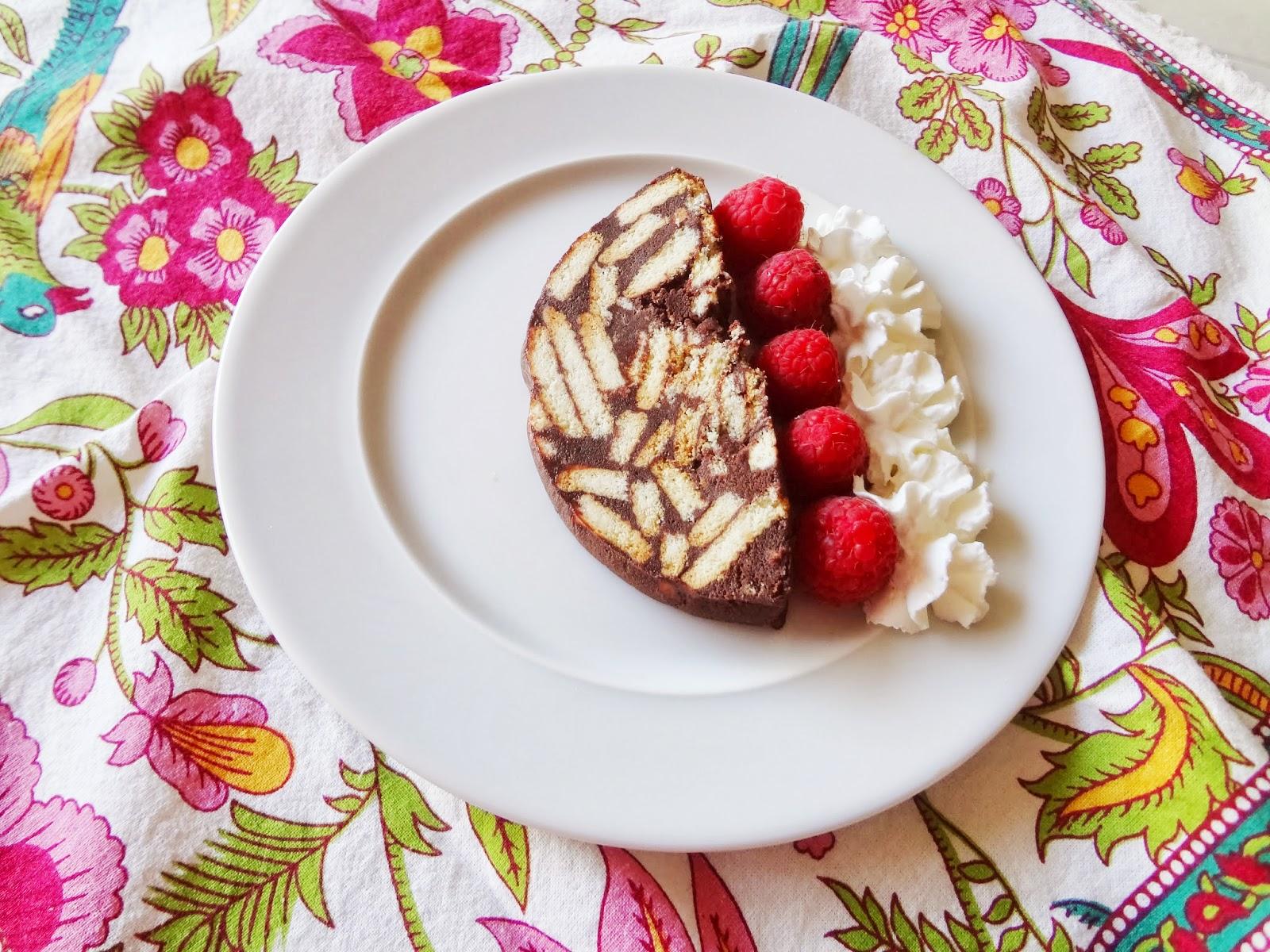 Chocolate Mosaic Icebox Cake