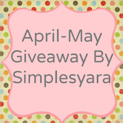 April-May Giveaway By Simplesyara