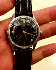 ZENITH AUTOMATIC BLACK GOLD DIAL