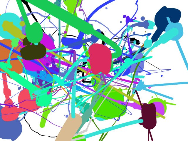 Dibujos manchas de pintura - Imagui