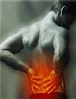 Low back pain HNP medical treatment and therapy