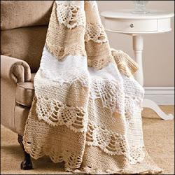 ... le crochet, les dentelles  et le tricot