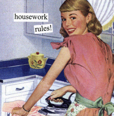 I love angry 50 39 s housewives for Classic 50s housewife