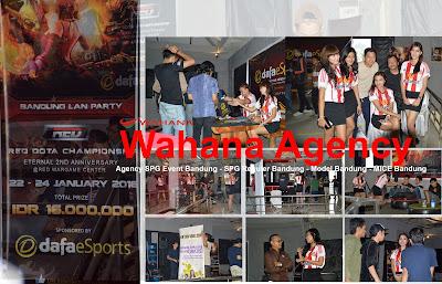 spg event bandung, agency spg event bandung, agency model bandung, MICE Bandung