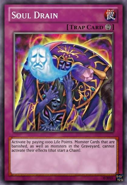 Soul Drain - Yu-Gi-Oh! Monstros de Duelo