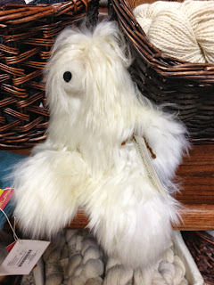 alpaca fleece toy