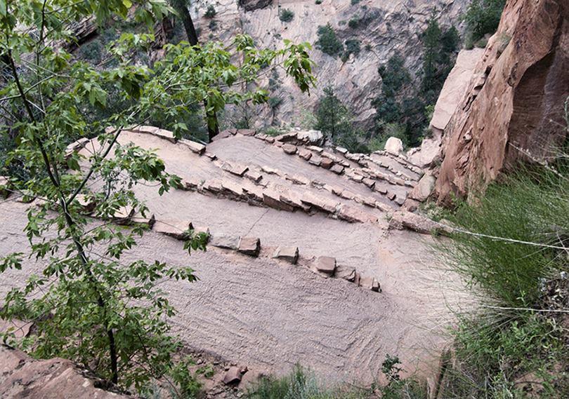 Walter's Wiggles on Angels Landing Trail, Utah