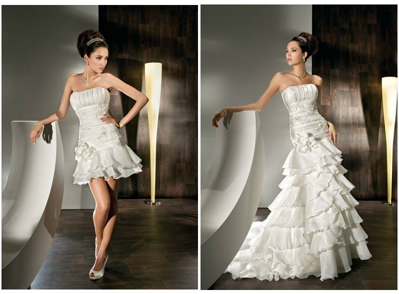 Convertible Wedding Dress: Chic 2 In 1 Dresses For All Events