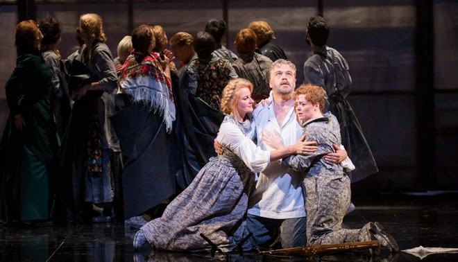 David Kempster, Fflur Wyn, Giselle Stille - Guillaume Tell - Welsh National Opera- credit Richard Hubert Smith