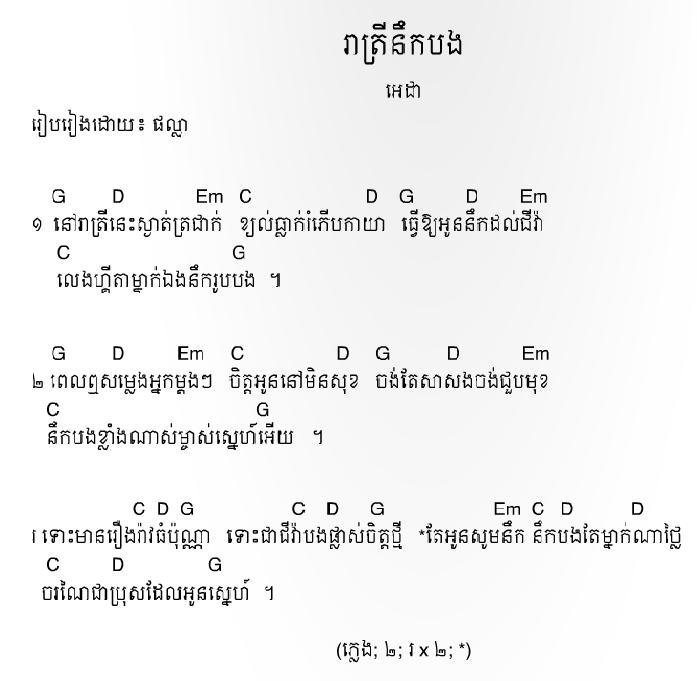 Guitar : guitar chords khmer song Guitar Chords . Guitar Chords Khmer Songu201a Guitar Chords Khmer ...