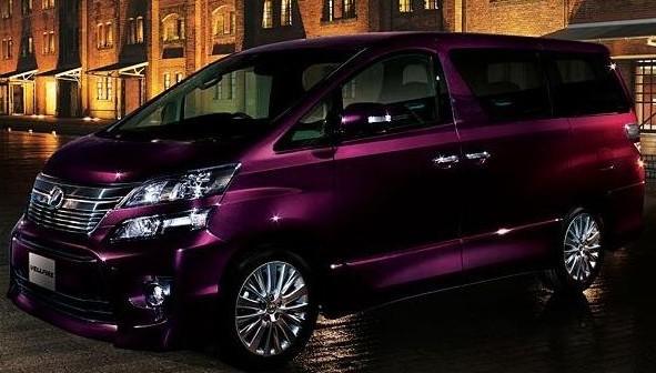 2012 New Toyota Vellfire