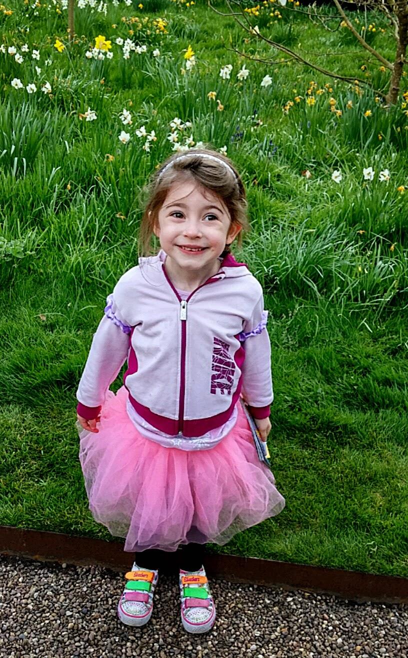 one very happy fairy