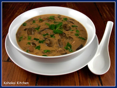 Kahakai Kitchen: Hungarian Mushroom Soup: Silky, Rich, Vegetarian ...