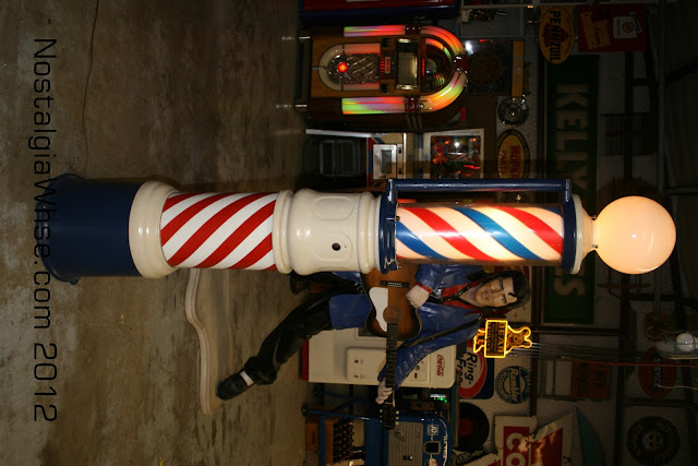 Antique Barber Pole3