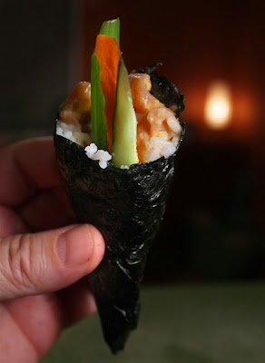 How To Make Spicy Kani Roll Cook And Post