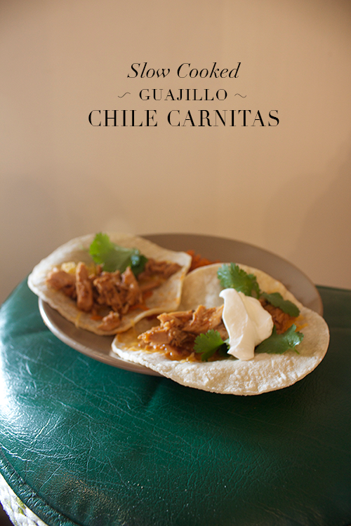 Guajillo Carnitas