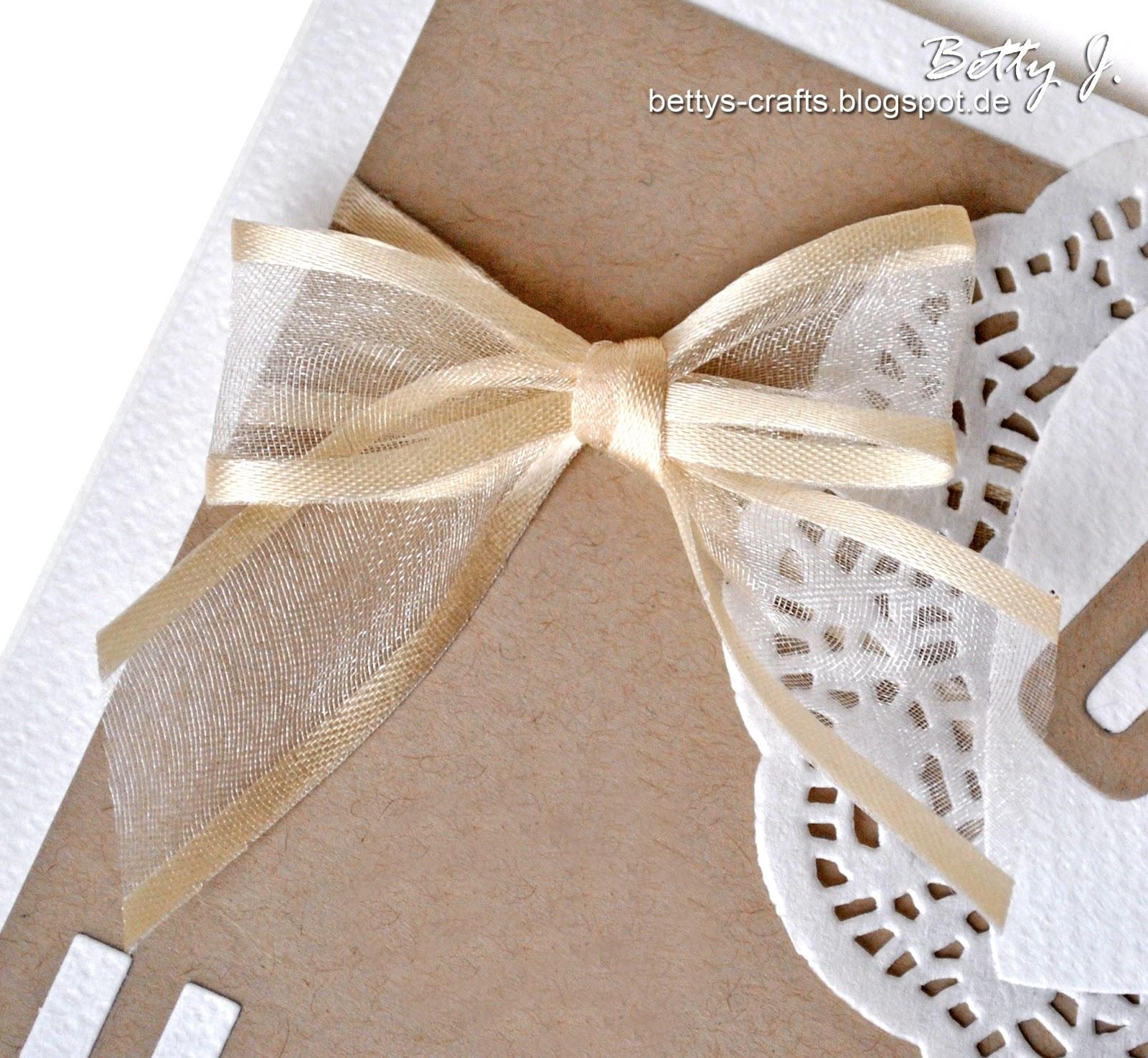 Bettys crafts wie binde ich eine schleife how to tie a bow - Schleife binden youtube ...