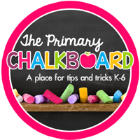 Primary Chalkboard blog