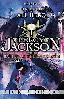 bookcover of BATTLE OF THE LABYRINTH  by Rick Riordan