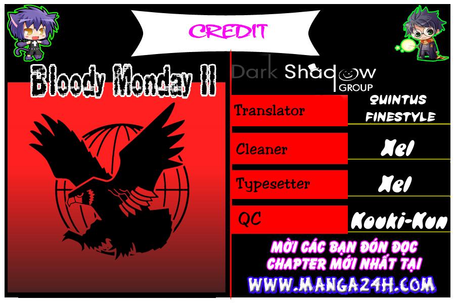 Bloody Monday Season 2 – Zetsubou no Kou chap 48 Trang 21