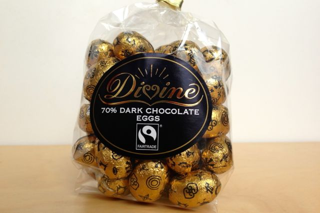 Divine 70% Dark Chocolate Eggs